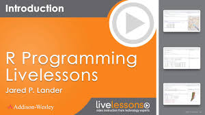 r programming livelessons video training 2nd edition informit