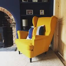 Ikea Strandmon Armchair Best 25 Yellow Armchair Ideas On Pinterest Yellow Chairs