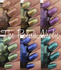 the polishaholic china glaze new bohemian collection swatches