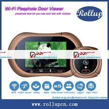 front door video camera apartment door camera u0026 brand new 7inch lcd screen video intercom