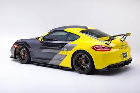 porsche cayman yellow porsche 981 cayman gt4 body kits u0026 carbon fiber aero kits vorsteiner