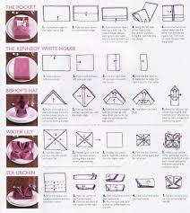 how to fold napkins for a wedding table napkin folding interiors design