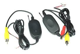wireless transmitter and receiver for rearview camera