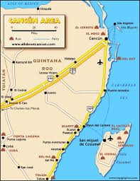 mexico toll road map the 25 best cancun map ideas on cozumel map mexico