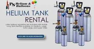 helium tanks for rent balloon dealer sells sky buster and balloons for