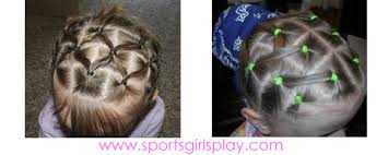 gymnastics picture hair style pictures of hairstyles for gymnastics meets and cheerleading