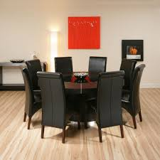black round dining table set 53 round dining table set for 8 66in rosewood ming design round