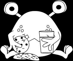 cookie monster cokie monster coloring coloring pages kids