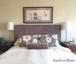upholstered headboard slipcover how to make a bed headboard
