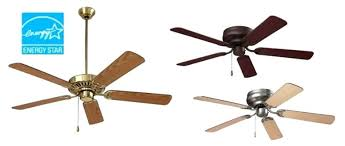 energy star ceiling fans with lights energy star ceiling fans series energy star qualified dual blades