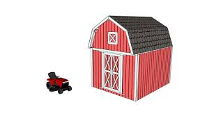 barn shed plans howtospecialist how to build step by step diy barn shed plans