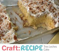 craft recipe easy tres leches cake make