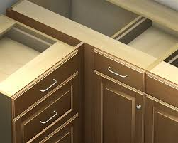 blind corner base cabinet 1 door 1 drawer blind corner base cabinet left