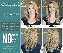 does halo couture work on short hair about halocouture extensions cabello s salon and spa