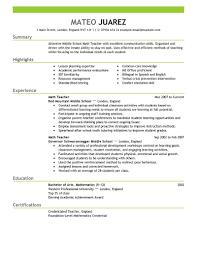 some exle of resume resume sle for beginning danaya us