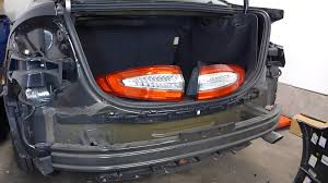 2012 ford fusion tail light bulb ford fusion rear bumper cover and taillight removal 2013 second