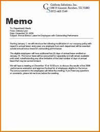 Business Letter Memorandum Example 4 How To Write Business Memo Expense Report
