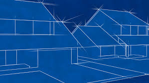 blueprint houses blueprint houses animation hd loop stock footage 1737289