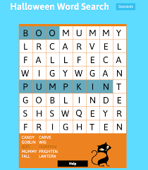 Acrostic Poems For Halloween Halloween Word Search Puzzles