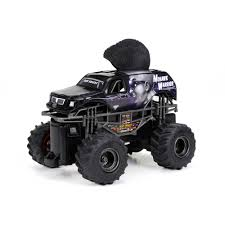 monster truck rc racing 1 43 full function monster jam mini mohawk warrior r c car black