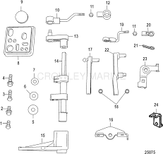 conversion kit manual start 889246a34 mercury oem parts
