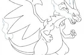 pokemon coloring pages mega charizard colorings