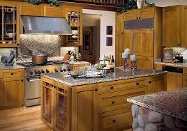 Cinnamon Shaker Kitchen Cabinets by Craftsman Style Kitchen Cabinets