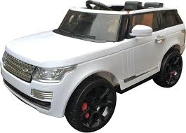 electric jeep range rover sport autobiography style kids electric 12v jeep white