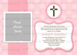 Invitation Card Baptism Baptism Invitations In Spanish Examples Of Baptism Invitations
