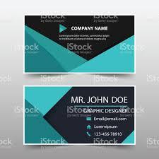 Flat Design Business Card Red Black Corporate Business Card Header Template Flat Design Set