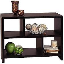 convenience concepts oxford console table convenience concepts northfield console table with shelves