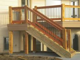 Exterior Stair Railing by Exterior Stair Railing Height How Do I Meet Height Gapping Code