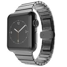 metal link bracelet images Luxury watchband metal watch strap for apple watch band stainless jpg