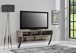 simple tv stand with ladder shape concept combined wooden