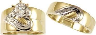 gold wedding ring sets gold wedding bands choose the set of gold wedding bands