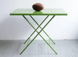 tables better living through design powder coated steel folding table dining tables better living