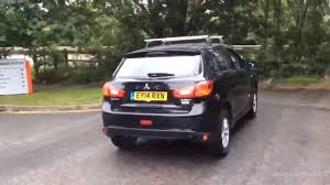 black mitsubishi asx mitsubishi asx 2 black 2014 youtube
