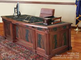 Kidney Shaped Executive Desk Solid Kidney Shaped Mahogany Executive Desk High End Antique