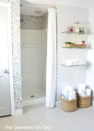 Remodeling Bathroom On A Budget Ideas Diy Bathroom Renovation Reveal Budget Bathroom Shower Inserts