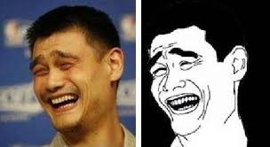 Yao Ming Face Meme - who is this person whose face has made many people laughing quora