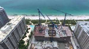 cranes construction sites and drones youtube