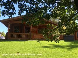 Luxury Holiday Homes Northumberland by Sycamore Log Cabin Relax U0026 Unwind Northumbrian Holidays