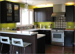 Green Kitchen Design Lime Green Modern Kitchen