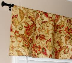 decorating waverly designer paisley valance 50 wide x 16 by