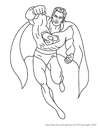 superman coloring pages coloring