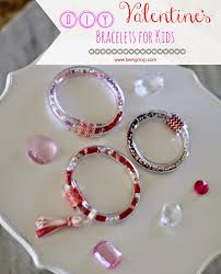 being mvp diy valentine u0027s bracelets for kids funcraftswithmom