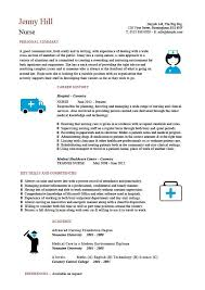 Sample Skills For Resume by Nursing Cv Template Nurse Resume Examples Sample Registered