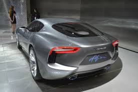maserati concept cars maserati shows alfieri concept in detroit announces 2014 sales