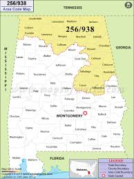 Virginia Area Code Map by 256 Area Code Map Where Is 256 Area Code In Alabama