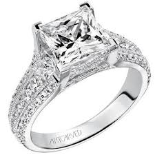 cut engagement ring princess cut engagement ring